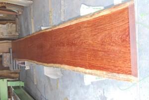 21 ブビンガ10mのビッグテーブル(オイル塗装)