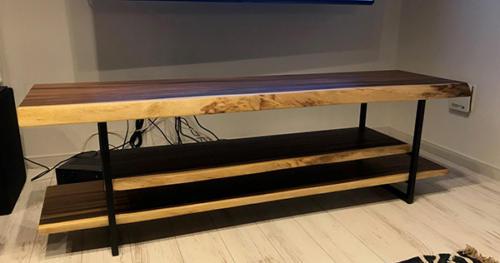 61 モンキーポッド テレビボード(オイル塗装)