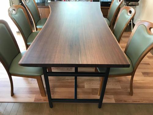 65 ブラックウォルナット ダイニングテーブル(オイル塗装)